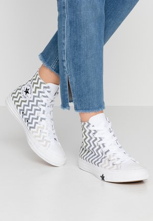 CHUCK TAYLOR CHEVRON ALL STAR - Sneakers hoog - white/field surplus/papyrus