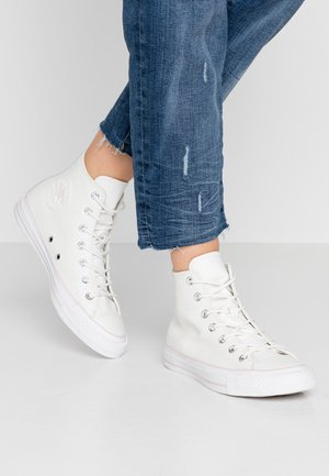 CHUCK TAYLOR ALL STAR IRIDESCENT - Høye joggesko - vintage white/barely rose/white