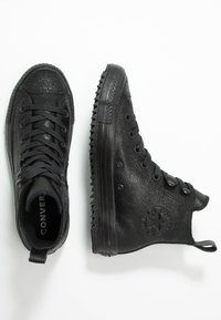 Converse - CHUCK TAYLOR ALL STAR HIKER  - Sneakers high - black - 3