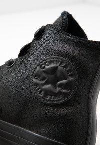 Converse - CHUCK TAYLOR ALL STAR HIKER  - Sneakers high - black - 2