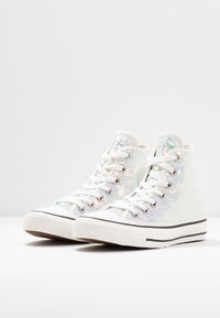 Converse - CHUCK TAYLOR ALL STAR - Høye joggesko - silver/vintage white/black - 4