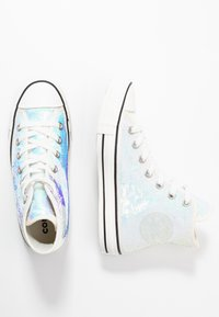 Converse - CHUCK TAYLOR ALL STAR - Baskets montantes - silver/vintage white/black - 3