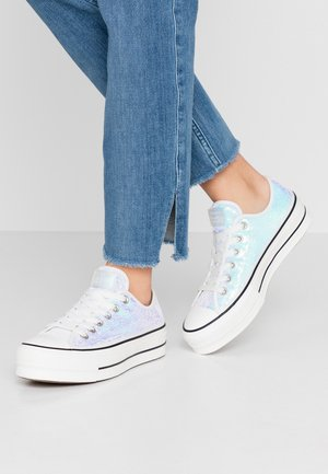 CHUCK TAYLOR ALL STAR LIFT - Baskets basses - silver/vintage white/black