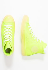 Converse - CHUCK TAYLOR ALL STAR - High-top trainers - volt/vitage white/natural ivory - 3