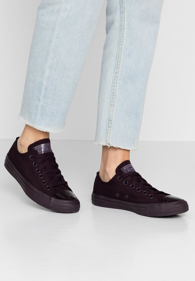 CHUCK TAYLOR ALL STAR OPI - Sneakers laag - black/purple