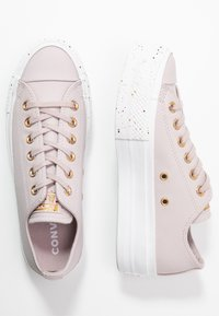 Converse - CHUCK TAYLOR ALL STAR LIFT SPECKLED - Sneakers basse - platinum violet/rose maroon/white - 3