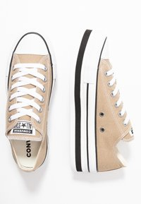 Converse - CHUCK TAYLOR ALL STAR LAYER BOTTOM - Sneakers laag - khaki/white/black - 3