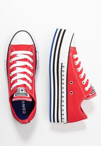 Converse - CHUCK TAYLOR ALL STAR LIFT ARCHIVAL  - Sneakers basse - university red/white/black - 3
