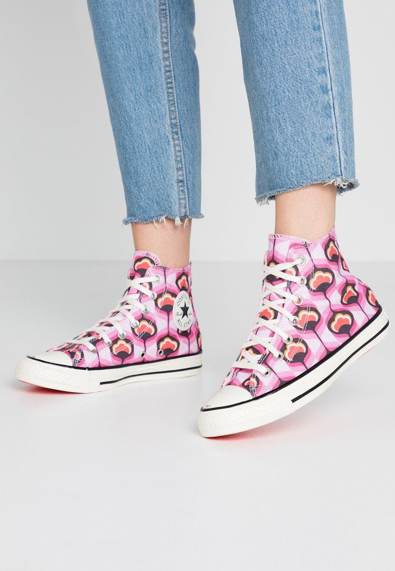 Converse - CHUCK TAYLOR ALL STAR - Høye joggesko - cherry blossom/converse pink/egret
