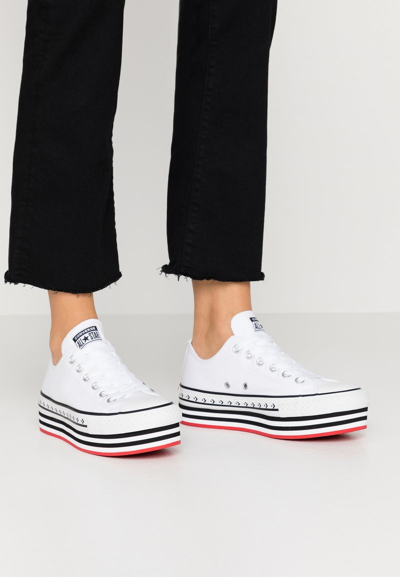 Converse - CHUCK TAYLOR ALL STAR LIFT ARCHIVAL - Sneakers basse - white/black