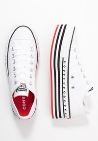 Converse - CHUCK TAYLOR ALL STAR LIFT ARCHIVAL - Sneakers basse - white/black - 3
