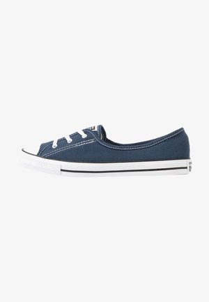 CHUCK TAYLOR ALL STAR BALLET LACE - Slip-ons - navy/white/black