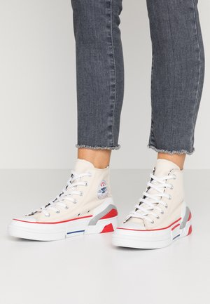 CPX 70 - High-top trainers - egret/white/university red