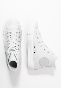 Converse - CHUCK TAYLOR ALL STAR PATCH - Høye joggesko - photon dust/silver/white - 3