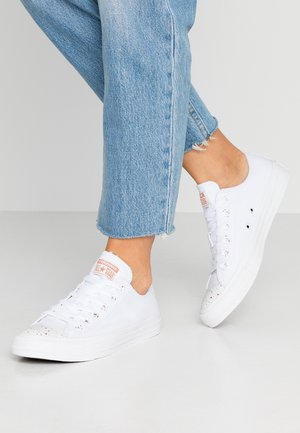 CHUCK TAYLOR ALL STAR - Matalavartiset tennarit - white/blush gold