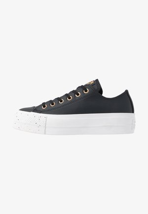 CHUCK TAYLOR ALL STAR LIFT SPECKLED - Trainers - black/rose maroon/white
