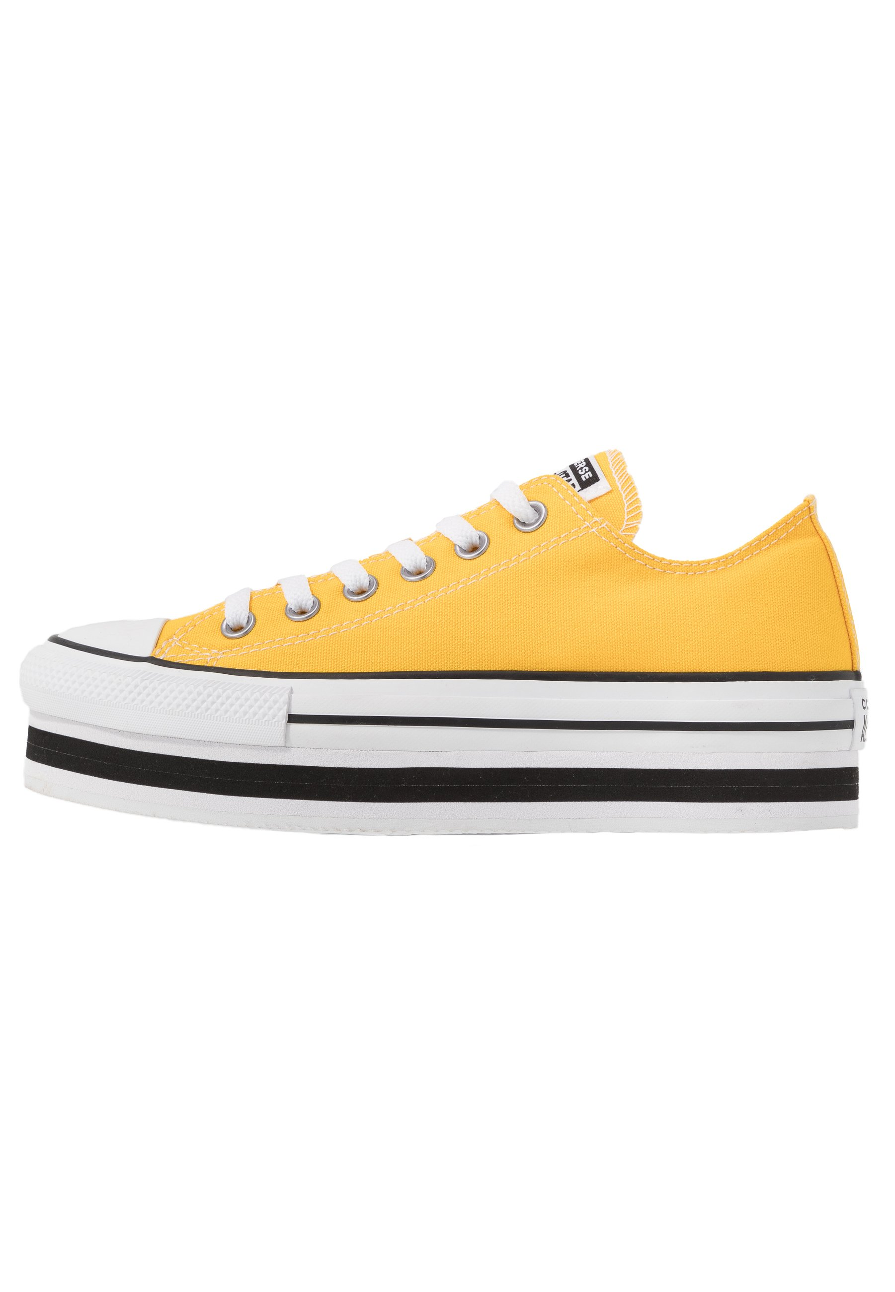 Converse CHUCK TAYLOR ALL STAR LAYER BOTTOM - Baskets basses - amarillo/white/black