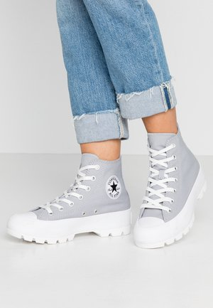 CHUCK TAYLOR ALL STAR LUGGED SEASONAL - High-top trainers - wolf grey/black/white