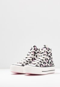 Converse - CHUCK TAYLOR ALL STAR LIFT - High-top trainers - vintage white/multicolor/black - 4