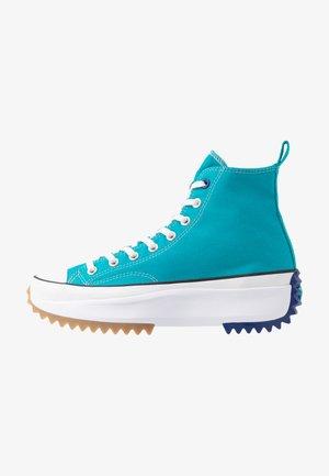RUN STAR HIKE - Zapatillas altas - rapid teal/rush blue/white