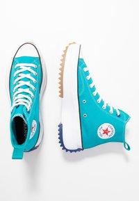 Converse - RUN STAR HIKE - Høye joggesko - rapid teal/rush blue/white - 3