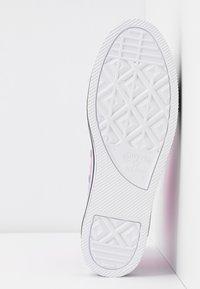 Converse - CHUCK TAYLOR ALL STAR LAYER BOTTOM - Høye joggesko - peony pink/white/black - 6