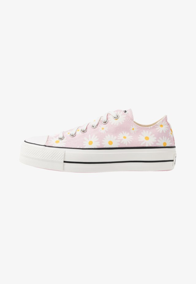 CHUCK TAYLOR ALL STAR LIFT - Matalavartiset tennarit - pink/white/black