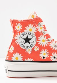 Converse - CHUCK TAYLOR ALL STAR LIFT - Høye joggesko - red/white/yellow - 2
