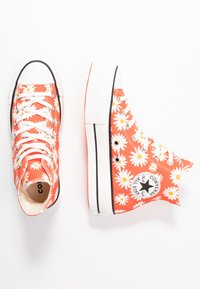 Converse - CHUCK TAYLOR ALL STAR LIFT - Sneakers hoog - red/white/yellow - 3