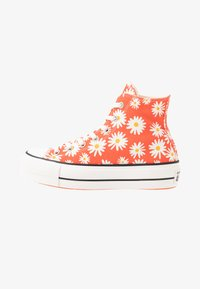 Converse - CHUCK TAYLOR ALL STAR LIFT - Høye joggesko - red/white/yellow - 1