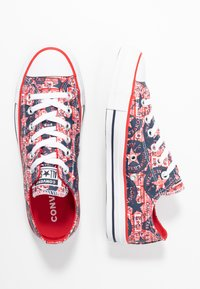 Converse - CHUCK TAYLOR ALL STAR - Trainers - university red/white/obsidian - 3
