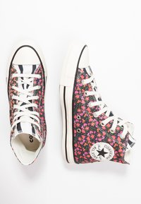 Converse - CHUCK TAYLOR ALL STAR - Sneakers hoog - egret/pink/green - 3