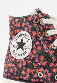 Converse - CHUCK TAYLOR ALL STAR - Sneakers hoog - egret/pink/green - 2
