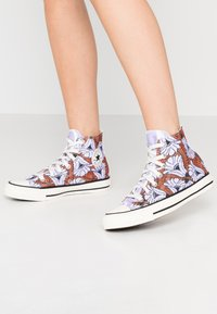 Converse - CHUCK TAYLOR ALL STAR - Sneakers hoog - egret/orange/light blue - 0