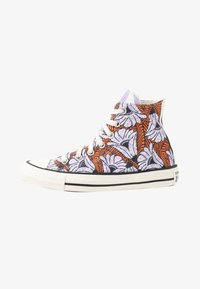 Converse - CHUCK TAYLOR ALL STAR - Sneakers hoog - egret/orange/light blue - 1