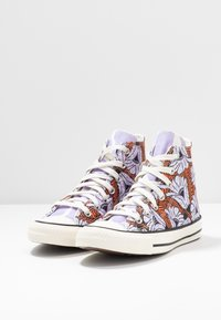 Converse - CHUCK TAYLOR ALL STAR - Sneakers hoog - egret/orange/light blue - 4