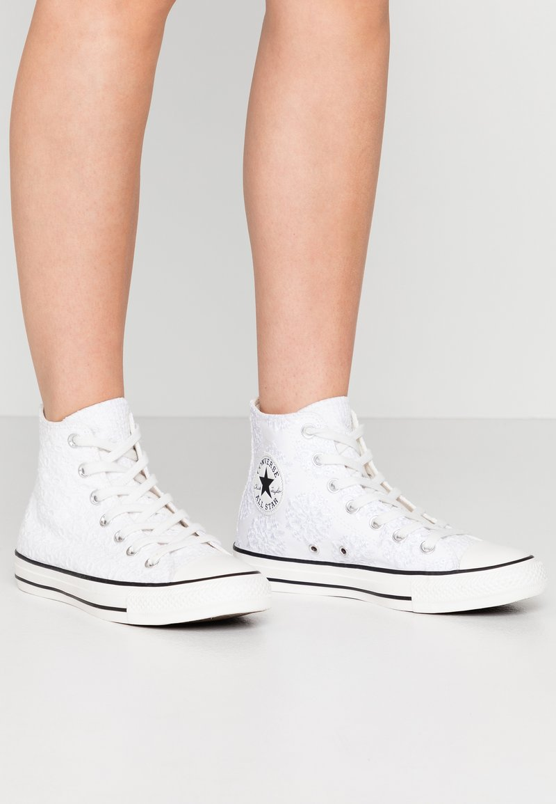 Converse - CHUCK TAYLOR ALL STAR - Høye joggesko - white/black