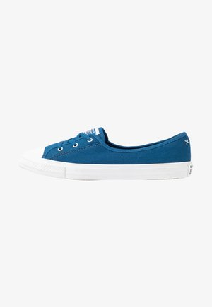 CHUCK TAYLOR ALL STAR BALLET LACE - Trainers - court blue/agate blue/white