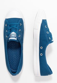 Converse - CHUCK TAYLOR ALL STAR BALLET LACE - Sneakersy niskie - court blue/agate blue/white - 3