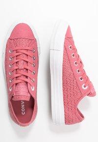 Converse - CHUCK TAYLOR ALL STAR - Zapatillas - madder pink/white/black - 3