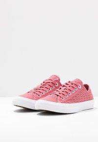 Converse - CHUCK TAYLOR ALL STAR - Zapatillas - madder pink/white/black - 4