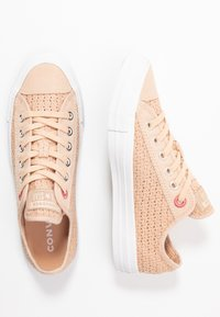 Converse - CHUCK TAYLOR ALL STAR - Sneakers laag - shimmer/madder pink/white - 3