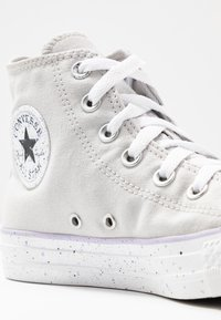 Converse - CHUCK TAYLOR ALL STAR - Sneakers hoog - mouse/white/moonstone violet - 2