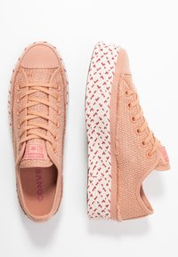 Converse - CHUCK TAYLOR ALL STAR - Joggesko - rose gold/white/madder pink - 3