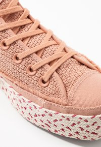 Converse - CHUCK TAYLOR ALL STAR - Joggesko - rose gold/white/madder pink - 2