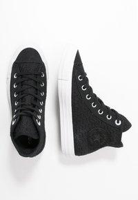 Converse - CHUCK TAYLOR ALL STAR - Zapatillas altas - black/white - 3