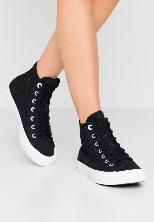 CHUCK TAYLOR ALL STAR - Korkeavartiset tennarit - black/white
