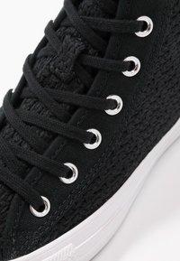 Converse - CHUCK TAYLOR ALL STAR - Zapatillas altas - black/white - 2