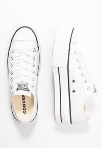 Converse - CUCK TAYLOR ALL STAR LIFT - Matalavartiset tennarit - white/black - 3