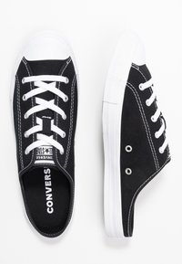 Converse - CHUCK TAYLOR ALL STAR DAINTY MULE - Trainers - black/white - 3